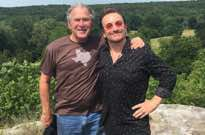​Bono Hung Out with George W. Bush in Texas This Weekend