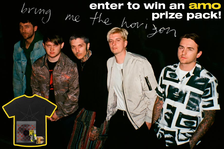 Bring Me the Horizon - Win 'amo' on vinyl and CD, plus merch!