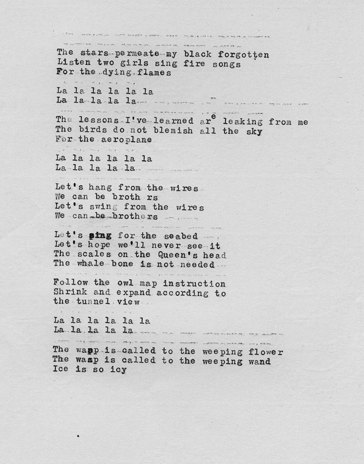 Lyric queen songs lyrics : Broadcast Share Unreleased Song for Late Singer Trish Keenan's ...