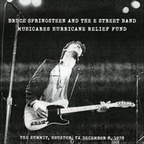 Bruce Springsteen Releases Houston Live Album for Hurricane Relief