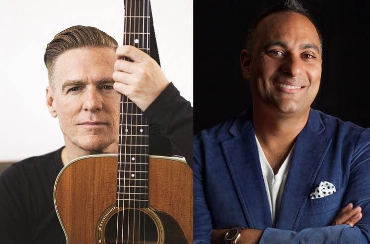 ​Bryan Adams and Russell Peters Will Host the 2017 Juno Awards