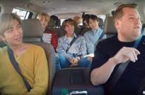 "​Watch BTS Pile into James Corden's Vehicle for ""Carpool Karaoke"""