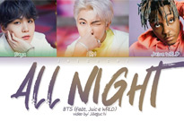 "BTS Join Forces with Juice WRLD for ""All Night"""