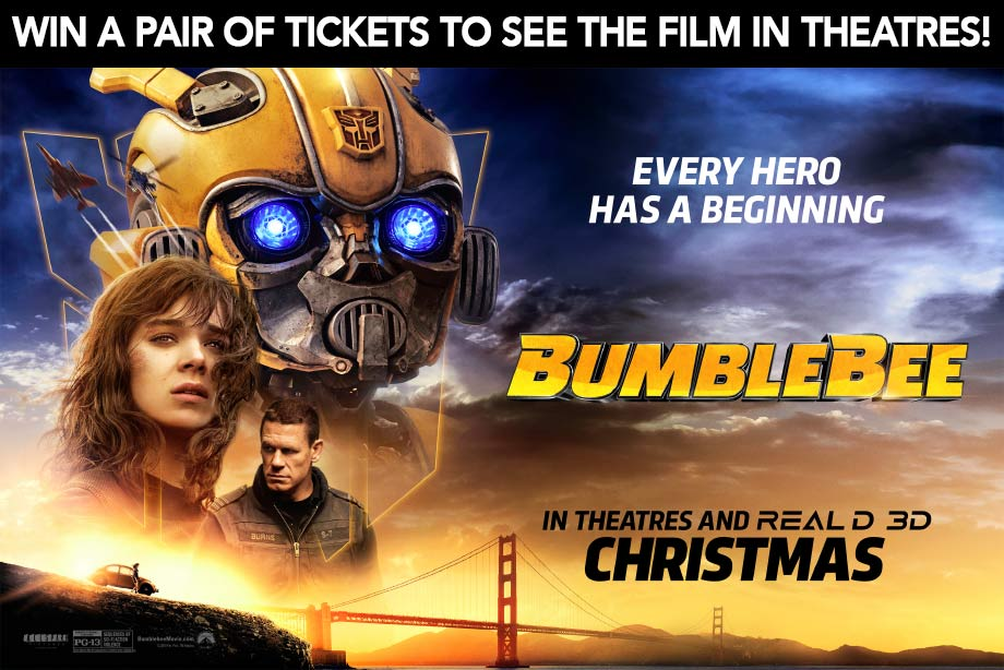 Win tickets to see 'Bumblebee' in theatres!
