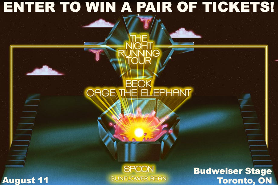 Cage the Elephant - Win Tickets to See Them with Beck at Toronto's Budweiser Stage!