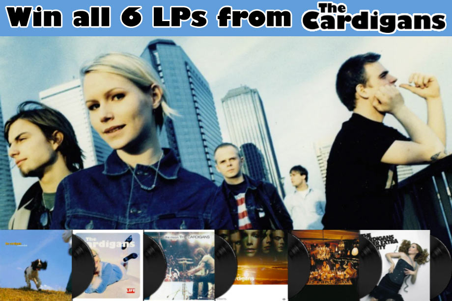 The Cardigans - Win Their Discography on Vinyl!
