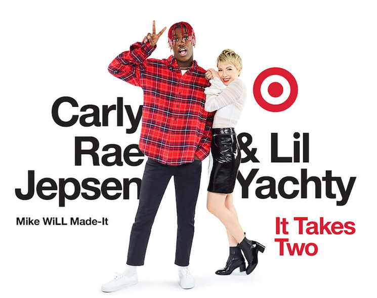"Lil Yachty and Carly Rae Jepsen's Cover of ""It Takes Two"" Is Finally Here"