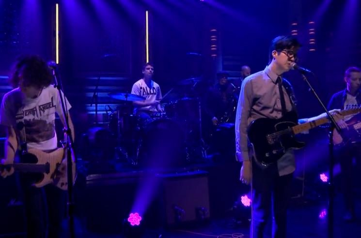 Watch Car Seat Headrest Play Drunk Drivers Killer Whales With The Roots On Fallon