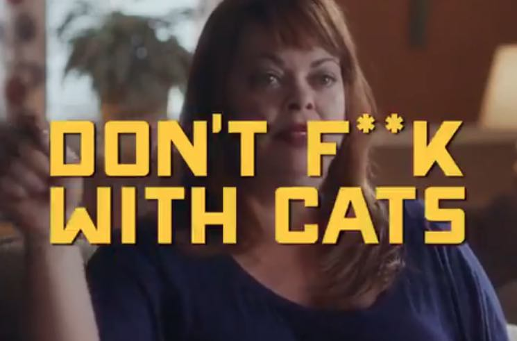 Image result for dont f with cats""