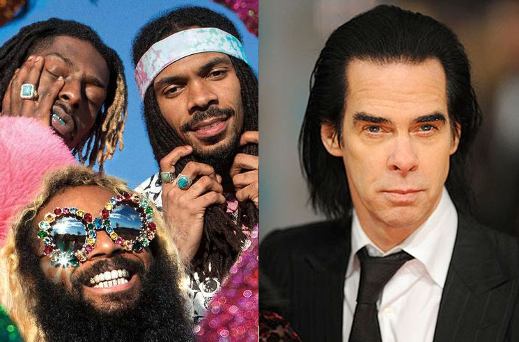 Nick Cave Says He Has Unreleased Music with Flatbush Zombies