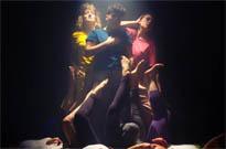 "Caveboy Hit Hot Yoga Class in ""Landslide"" Video"
