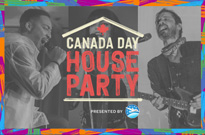 You're Invited to the Canada Day House Party