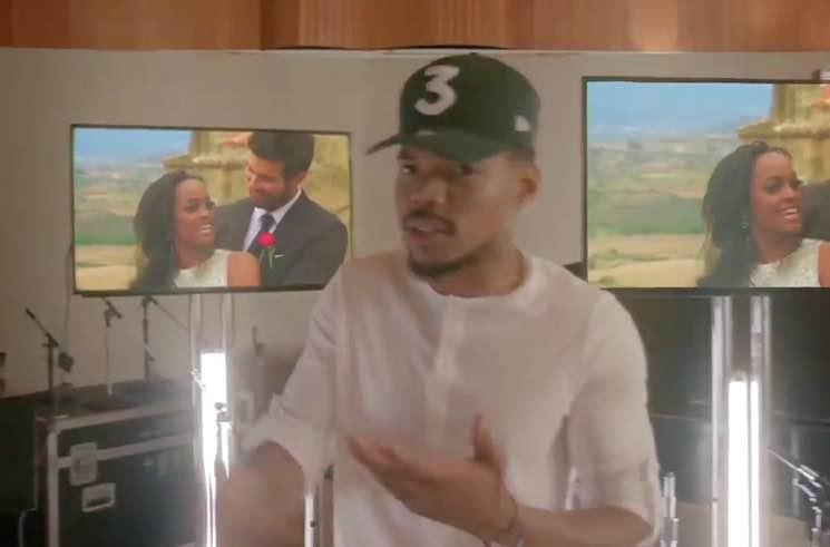​Watch Chance the Rapper Drop a New Verse During the Emmys Opening Number