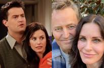 Monica and Chandler from 'Friends' Reunited for an Instagram Selfie