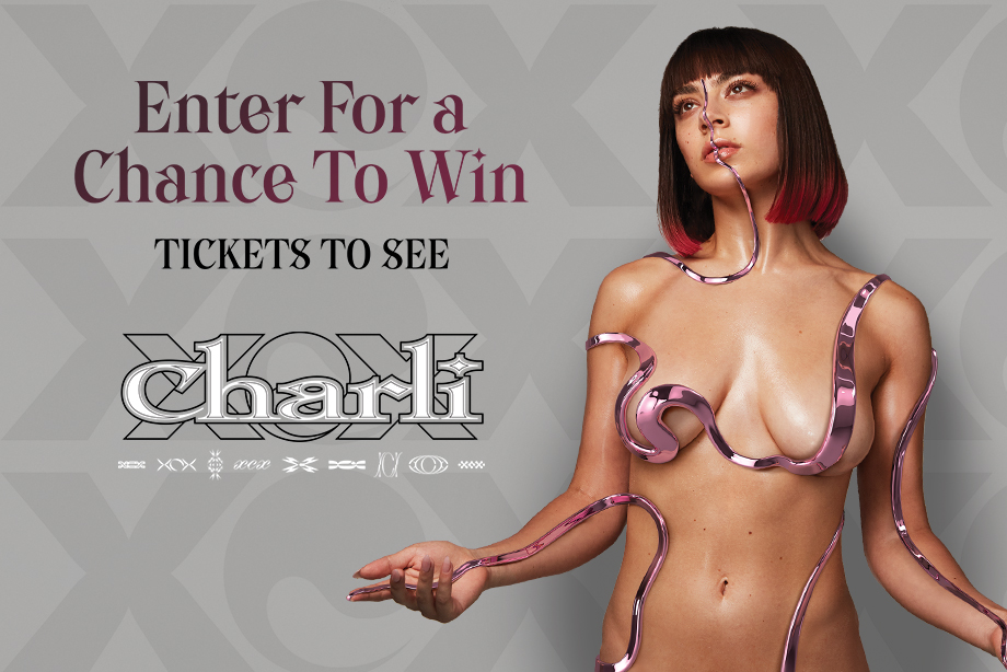 Charli XCX – Win a Pair of Tickets!