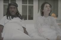 Watch Charlotte Gainsbourg Wed Blood Orange's Dev Hynes in New