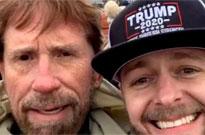 No, Chuck Norris Was Not at the Trump Riots