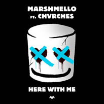 "​Chvrches and Marshmello Team Up on ""Here with Me"""