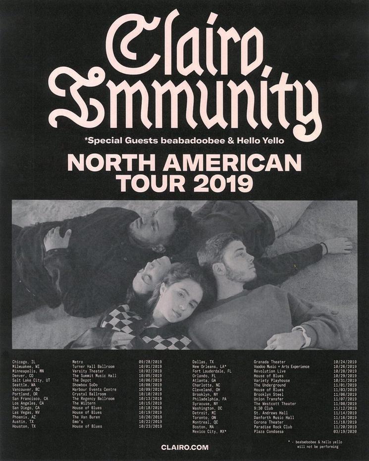 Clairo Announces North American Fall Tour