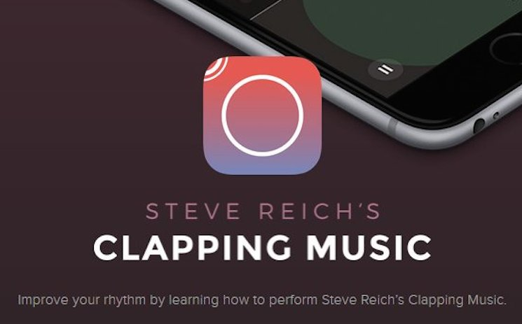 Steve Reich's 'Clapping Music' Now a Mobile Game