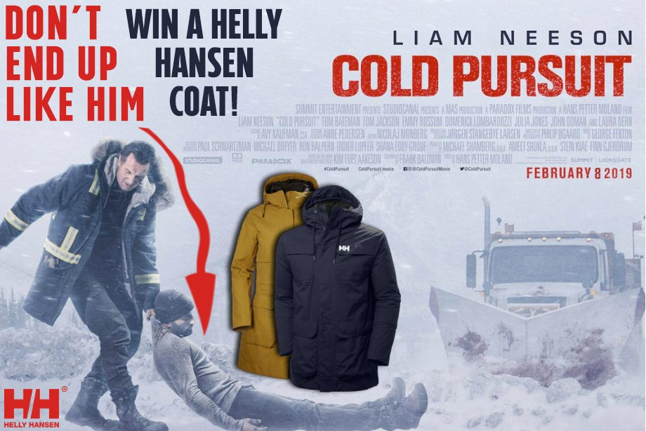 'Cold Pursuit' - Win a Helly Hansen Parka!