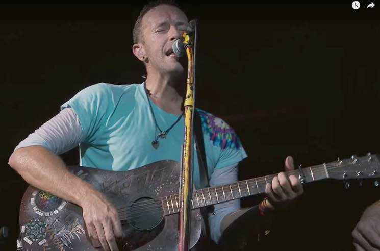 Watch Coldplay Debut a Brand New Song to Help Houston's Hurricane Recovery