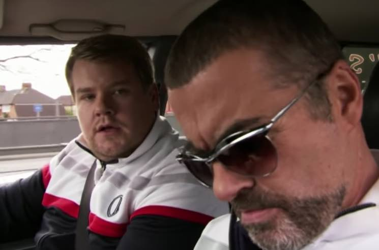 ​James Corden Credits 'Carpool Karaoke' to George Michael