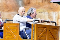 Billy Corgan Discusses Meme-Worthy Disneyland Trip: