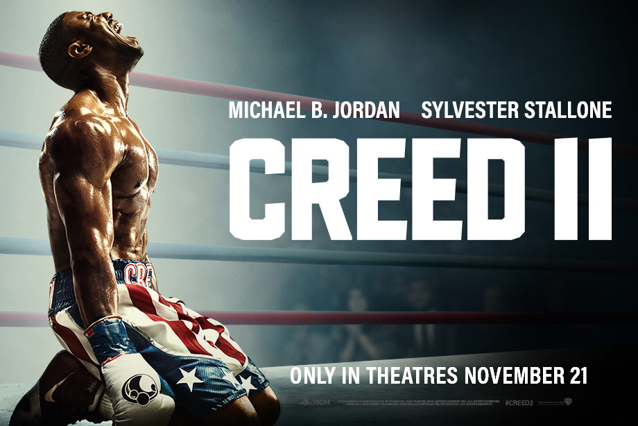 'CREED II' - Win special edition Nike Huarache shoes, branded boxing gloves, shorts and more!