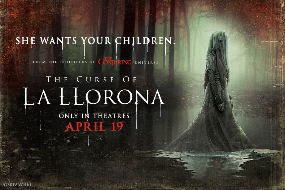 'The Curse of La Llorona' - Win tickets to see the film in theatres!