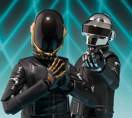 Daft Punk Treated to New Set of Action Figures