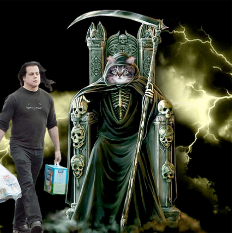 Glenn Danzig Responds to Kitty Litter Photos