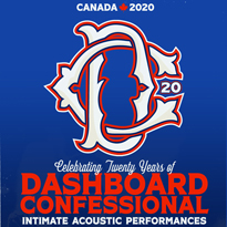 Dashboard Confessional Plot 20th Anniversary Canadian Tour
