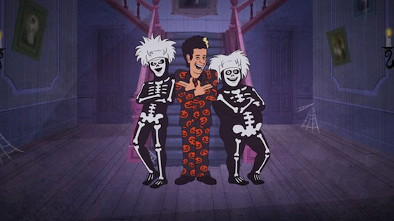Get Ready for a David S. Pumpkins Animated Special