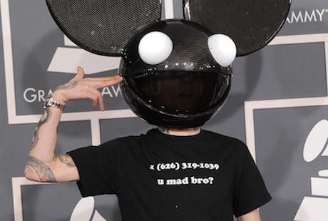 deadmau5 pranks skrillex by sharing his phone number at