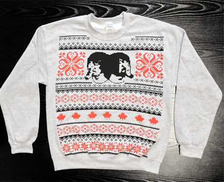 Death From Above 1979 Get Festive with Their Own Ugly Christmas Sweater