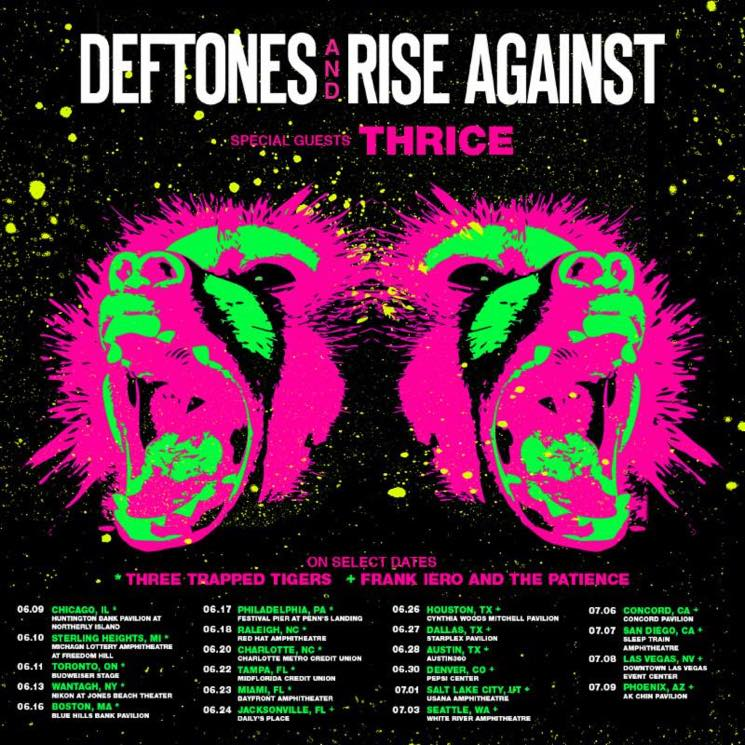 Deftones, Rise Against and Thrice Team Up for Summer Tour