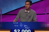 "'Jeopardy!' Contestant Dhruv Gaur Makes Alex Trebek Tear Up During ""Final Jeopardy"""