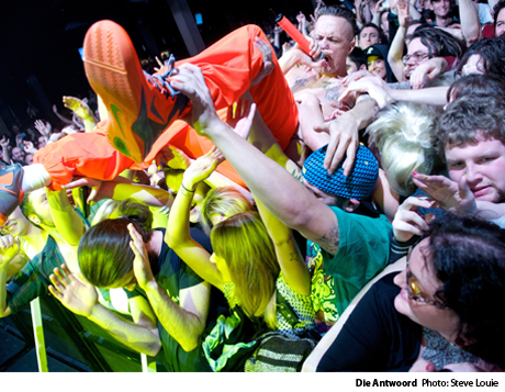 Die Antwoord / Expendable Youth - Commodore Ballroom, Vancouver BC February 19