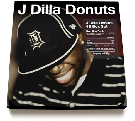 J Dilla's 'Donuts' Reissued as 7-Inch Box Set