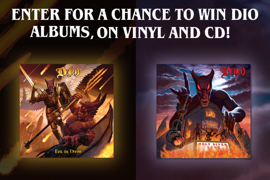 Dio – Enter for a chance to win a live album prize pack!