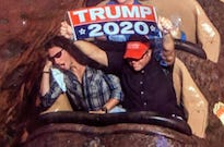 Disney World Bans Man Who Displayed Trump Signs on Rides