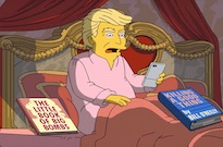 'The Simpsons' Mock Donald Trump's First 100 Days in Office with New Clip