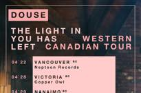 Douse Map Out Tour of Western Canada