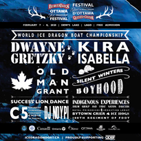 Ottawa's Ice Dragon Boat Festival Gets Dwayne Gretzky, Kira Isabella for 2020 Edition