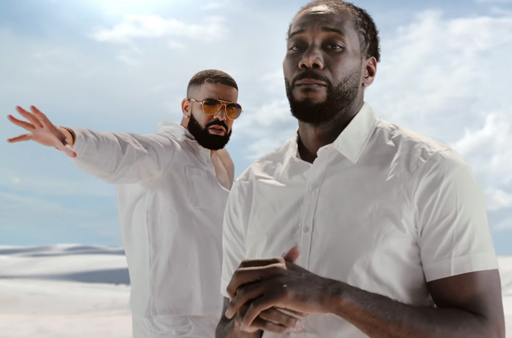 """Drake and Kawhi Leonard Reunite in the Video for """"Way 2 Sexy"""""""