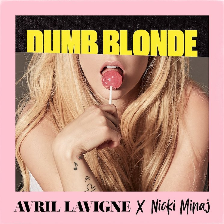 "Avril Lavigne Teams Up with Nicki Minaj for Punk Pop Banger ""Dumb Blonde"""