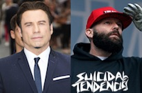 """John Travolta Says Being Directed by Fred Durst """"Is Maybe My Favourite Experience I've Had"""""""