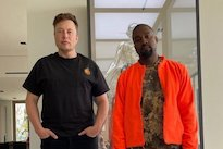 Elon Musk Is Back Supporting Kanye West's Presidential Bid