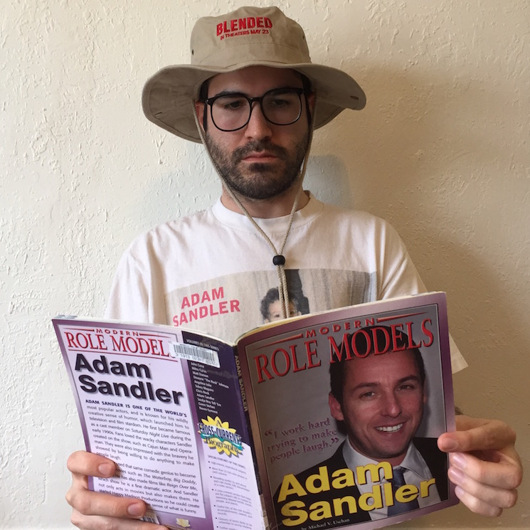 meet the man who is watching one adam sandler movie every
